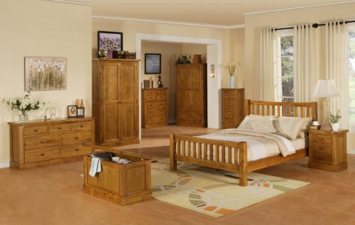 Distressed Oak Bedroom Furniture
