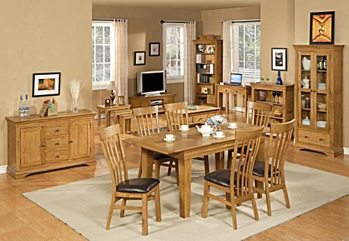 Dining for Dining room decorating ideas with oak furniture