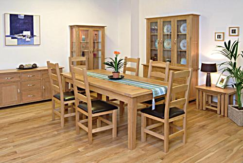 New Oak Dining Room Furniture